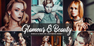 Free Glamour & Beauty Lightroom Preset