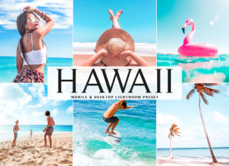 Free Hawaii Lightroom Preset