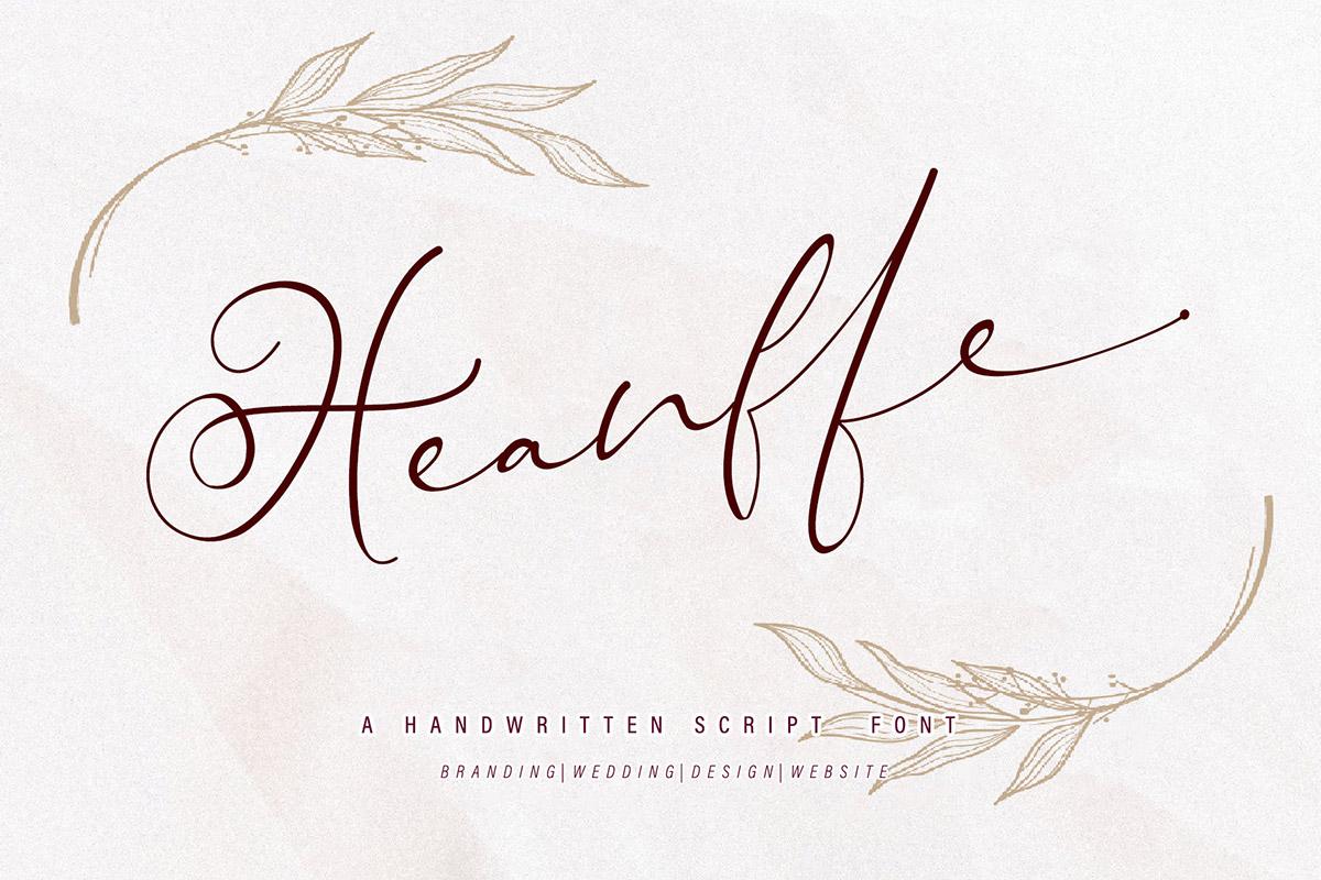 Free Heanffe Handwritten Script Font - Creativetacos