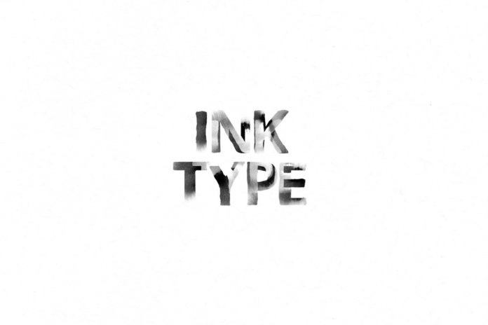 Free Ink Type Brush Font