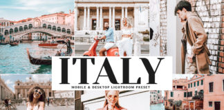Free Italy Lightroom Preset
