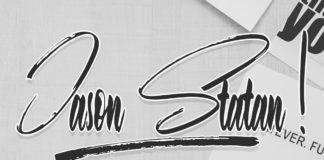 Free Jason Statan Handwritten Font