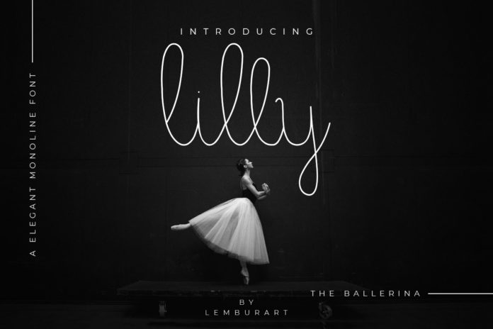 Free Lilly Script Style Font