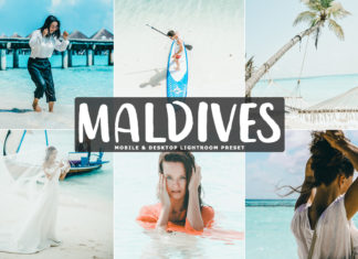 Free Maldives Lightroom Preset