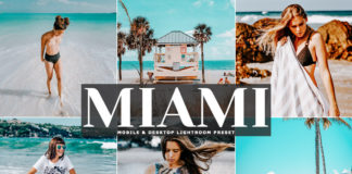Free Miami Lightroom Preset