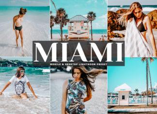 Free Miami Lightroom Preset