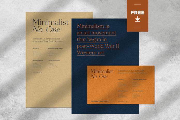 Free Minimalist Branding Mockup