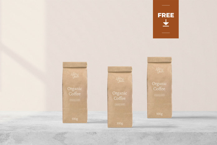 Free Minimalist Packaging Mockup