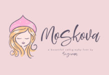 Free Moskova Calligraphy Font