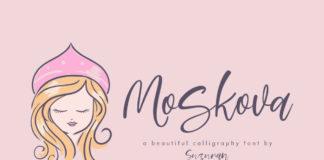 Free Moskova Calligraphy Font