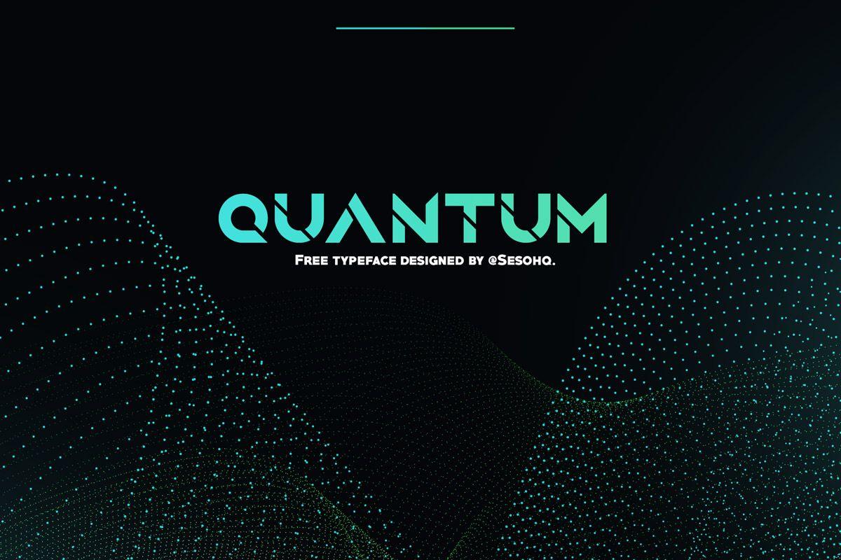 Free Quantum Sans Serif Font