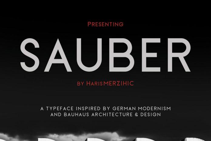 Free Sauber Sans Serif Font Family