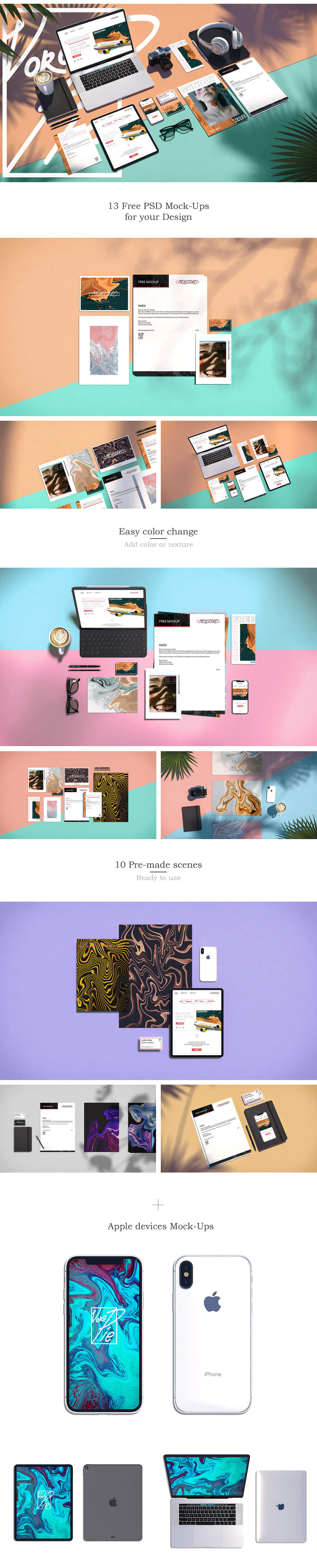 Free Scenes Mockups Collectgion