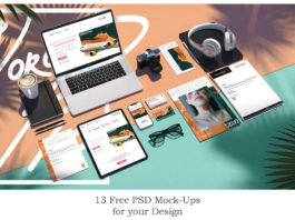 Free Scenes Mockups Collection