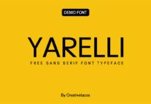 Free Yarelli Sans Serif Typeface