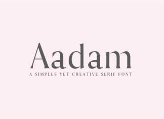 Free Aadam Modern Serif Font