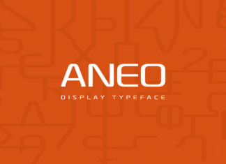Free Aneo Display Font Family