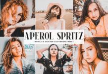 Free Aperol Spritz Lightroom Preset