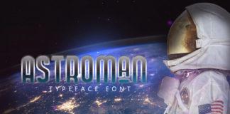 Free Astroman Sans Serif Font