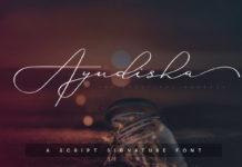 Free Ayudisha Signature Font