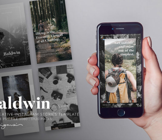 Free Baldwin Instagram Stories Template
