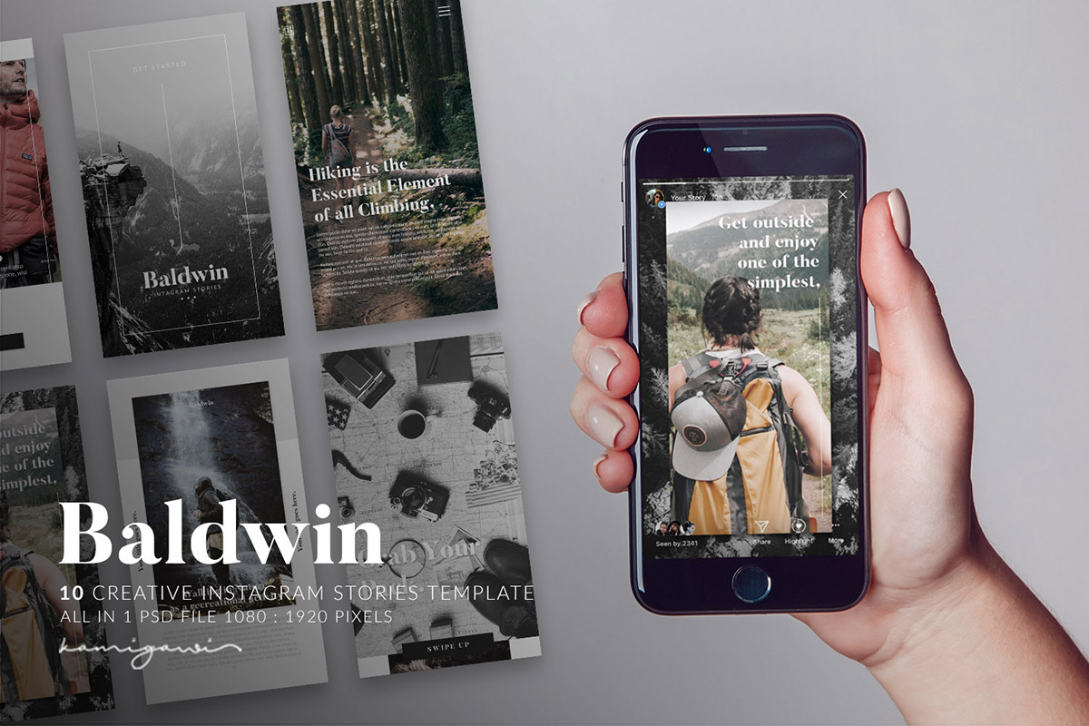 Free Baldwin Instagram Stories Template