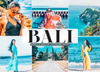 Free Bali Lightroom Preset