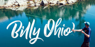 Free Billy Ohio Brush Font
