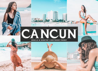 Free Cacun Lightroom Preset