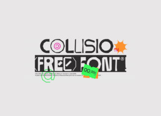 Free Collisio Display Font