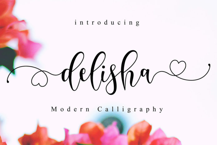 Free Delisha Script Font