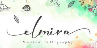 Free Elmira Script Font