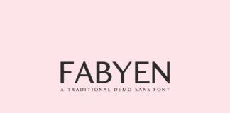 Free Fabyen Sans Serif Font