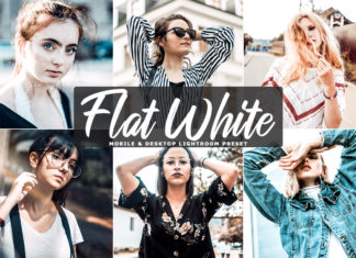Free Flat White Lightroom Preset
