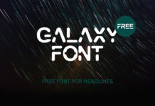 Free Galaxy Display Font