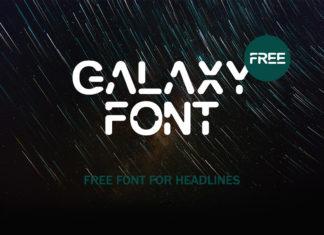 Free Galaxy Display Font