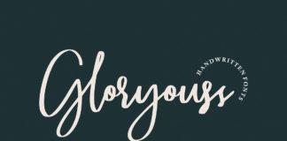 Free Gloryouss Handwritten Script Font