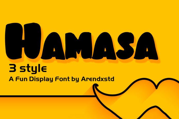 Free Hamsa Display Font