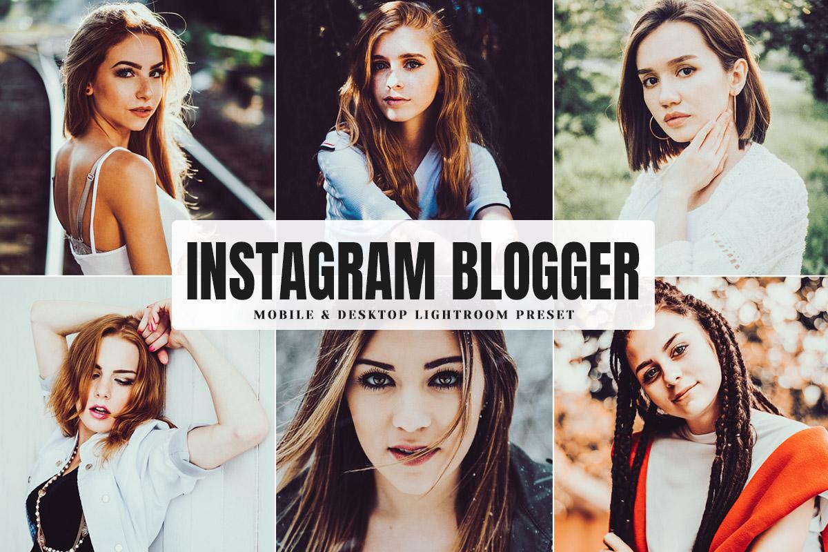 Free Instagram Blogger Lightroom Preset