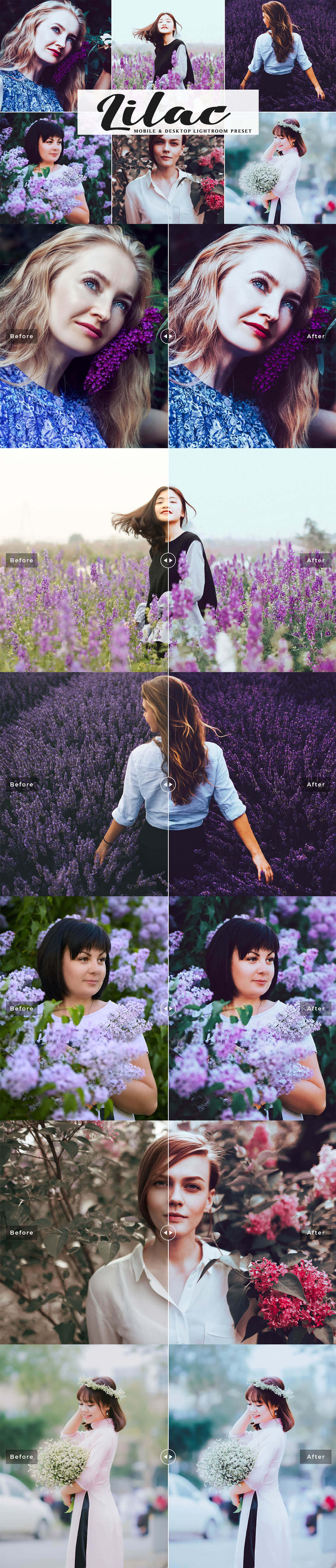 Free Lilac Lightroom Preset