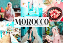 Free Morocco Lightroom Preset