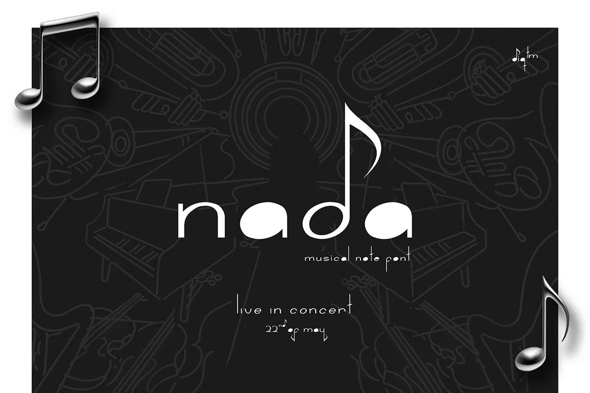 Free Nada Display Font