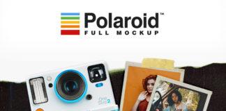 Free Polaroid Full Mockup