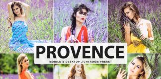 Free Provence Lightroom Preset