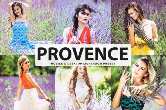 Free Provence Lightroom Preset
