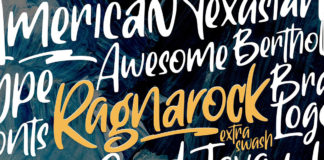 Free Ragnarock Display Font
