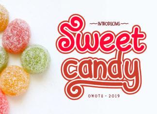 Free Sweet Candy Fun Font