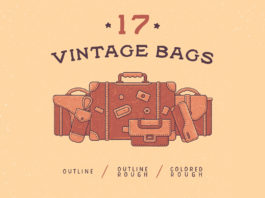 Free Vintage Bags Icons