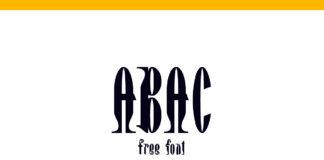 Free Abac Decorative Font Family