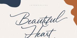 Free Beautiful Heart Script Font